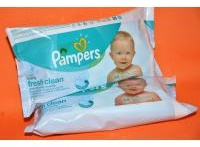 Pampers baby fresh Clean vlhčené ubrousky